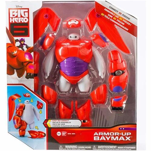 baymax grandes heroes big hero armadura 20 pzas armor up
