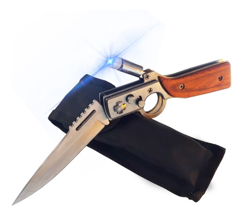 bayoneta daga tactica ak-47 cccp plegable acero / lhua store