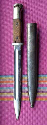 bayoneta ejercito alemán cromada