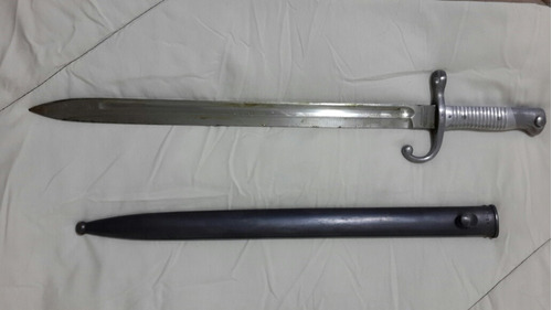 bayoneta mauser modelo argentino 1891 excelente estado