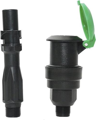 bayoneta o llave para valvula acople 3/4 pulgada