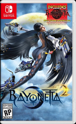bayonetta 1-2 nintendo switch nuevo sellado