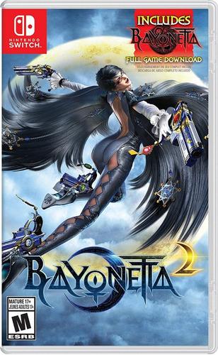 bayonetta 2 (físico) + bayonetta (codigo) - nintendo switch