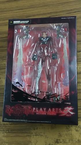 bayonetta. figura de accion. play arts. nueva y sellada