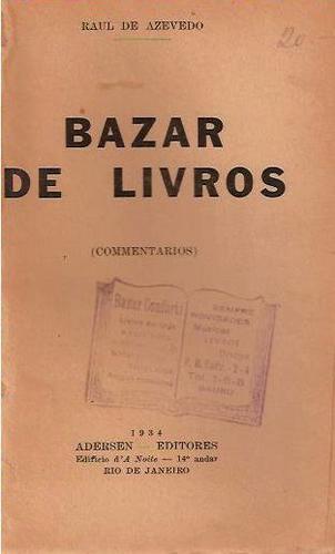 bazar de livros raul de azevedo maranhão - regionalismo 1930