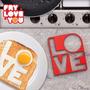 Molde Para Hacer Huevos Love