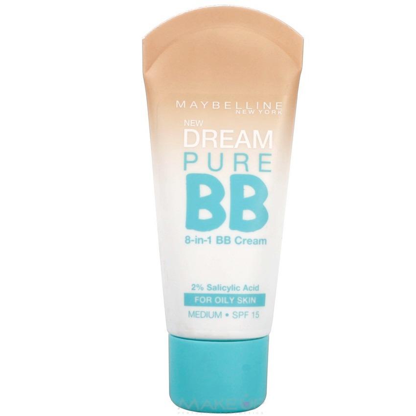 cd23000ad721 Bb Cream Base Anti Acne Maybelline Pure Tono Medium Original ...