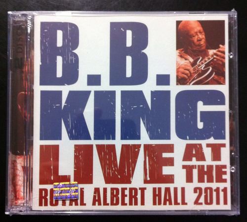 b.b. king - at the royal albert hall 2011 (cd+dvd, 2012) maa
