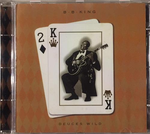 b.b. king - deuces wild - cd importado usa novo