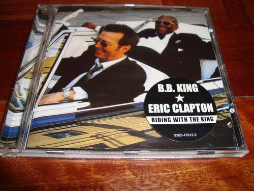 bb king eric clapton riding with the king  cd germany