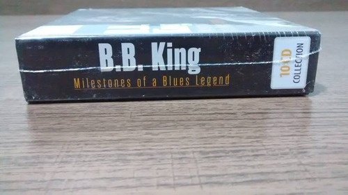 b.b. king milestones of a blues legend - box com 10 cds