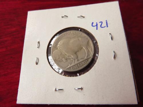 bb#421 usa five cent buffalo indio americano