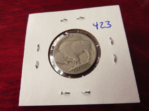 bb#423 usa five cent buffalo indio americano