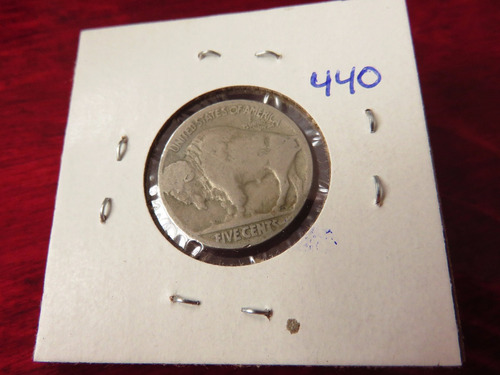 bb#440 usa five cent buffalo indio americano