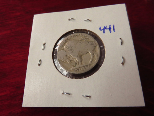 bb#441 usa five cent buffalo indio americano