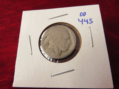 bb#445 usa five cent buffalo indio americano