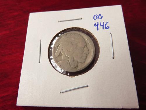 bb#446 usa five cent buffalo indio americano