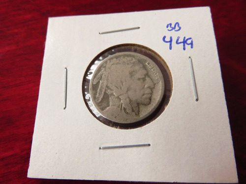 bb#449 usa five cent buffalo indio americano