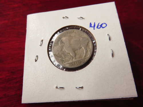 bb#460 usa five cent buffalo indio americano