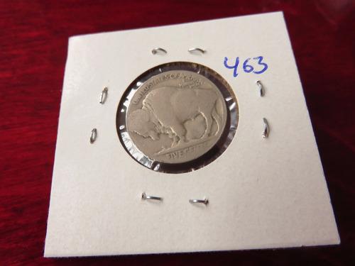 bb#463 usa five cent buffalo indio americano