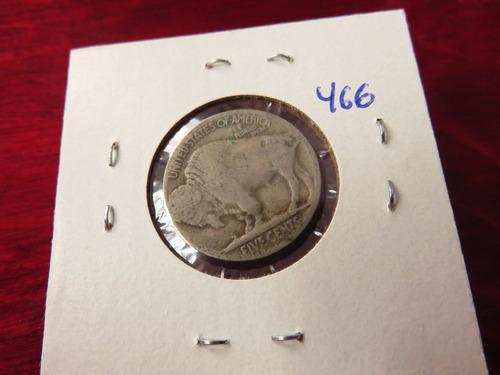 bb#466 usa five cent buffalo indio americano 1920