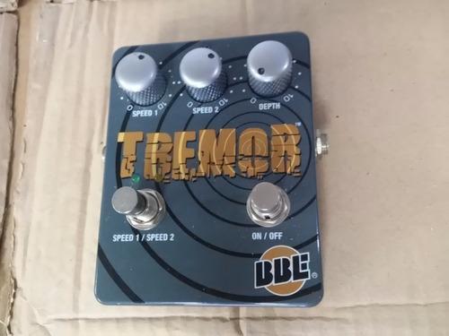 bbe tremor tremolo effect pedal