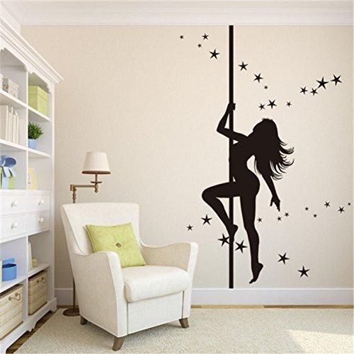 Girls dancing in bedroom