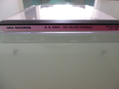 b.b.king / six silver strings / cd / blues / importado u.s.a