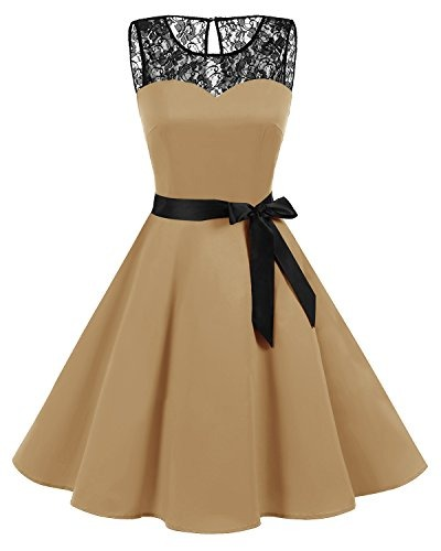 cbe7eb5c03 Bbonlinedress 1950 Años Vintage Rockabilly Swing Dress Cóc ...