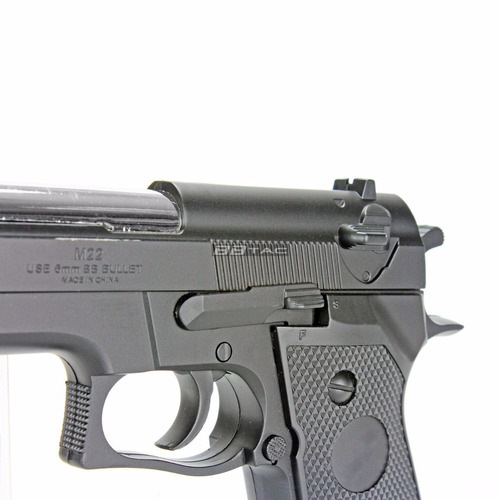 bbtac pistola de airsoft bt-m22 por resorte