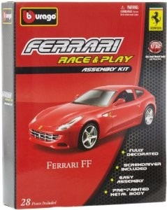 bburago 1:32 ferrari ff race and play kit para armar