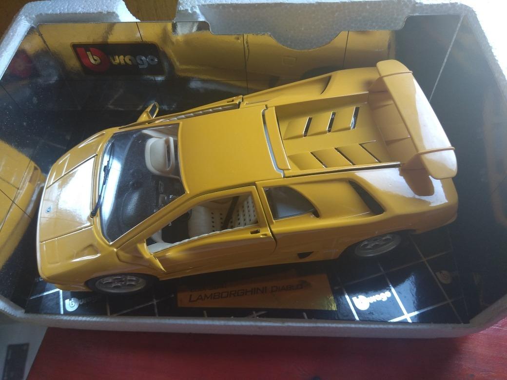 Bburago Lamborghini Diablo 1 18 Escala 899 00 En Mercado Libre