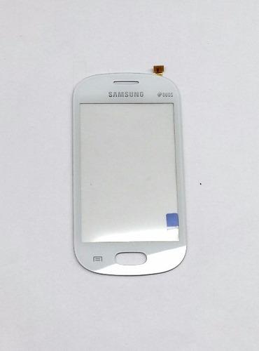 bc21- tela touch vidro samsung lite duos s6790 branco