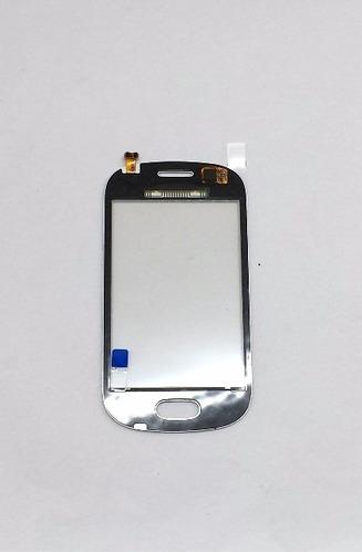 bc21- tela touch vidro samsung lite duos s6790 branco novo