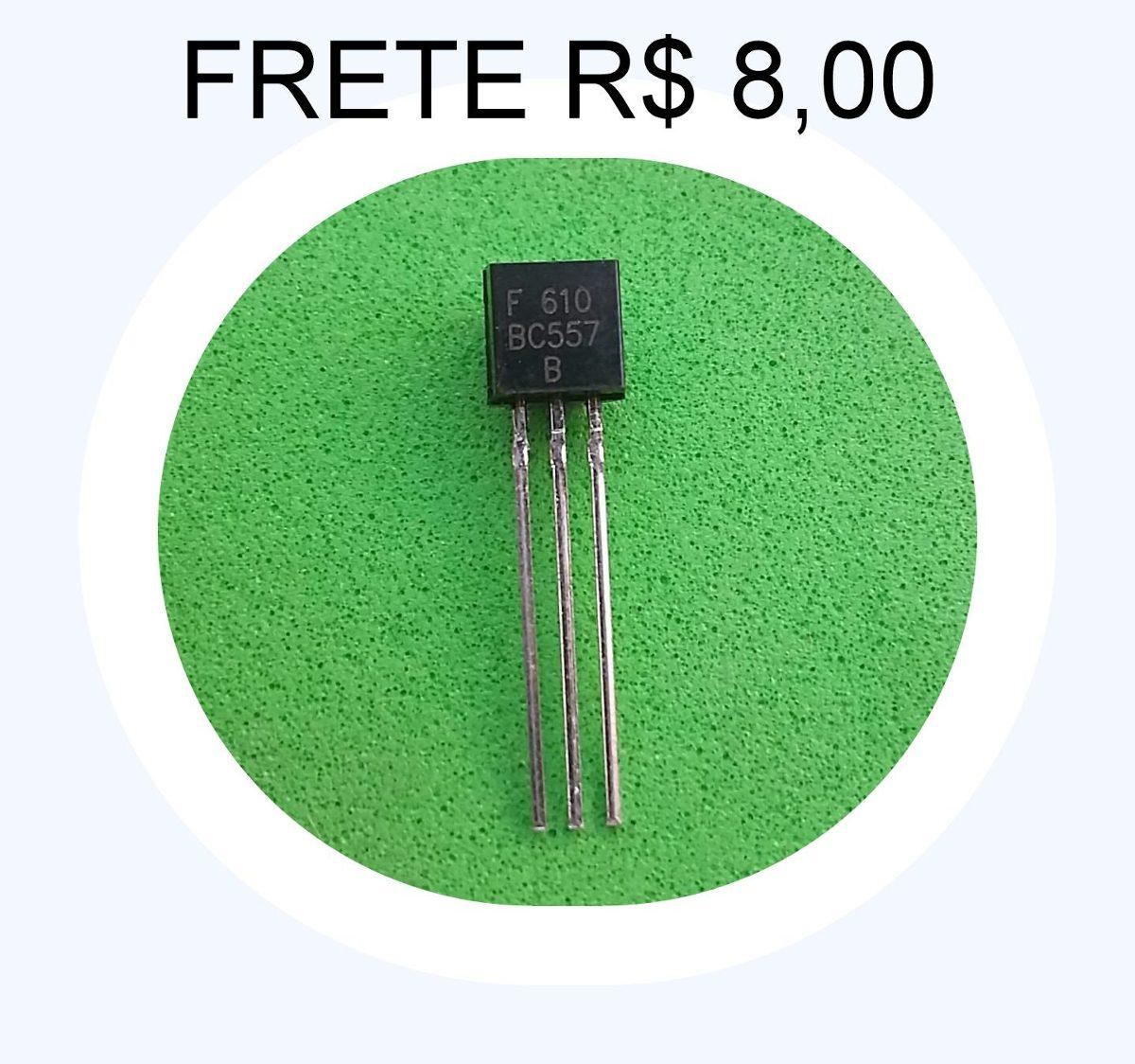 Bc557 Transistor Bc557 # Kit C/ 120 Peças