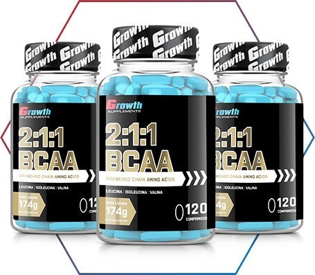 7bbade0ab Bcaa 120 Comprimidos Tab - Growth Supplements - R  70