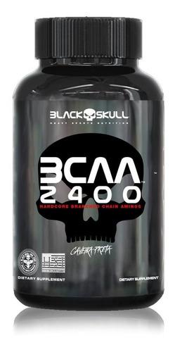 bcaa 2400 30 tabletes - black skull oferta