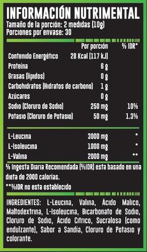 bcaa advance nutrition bcaa 3:1:2  30 porciones envio gratis
