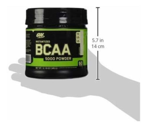 bcaa amino acidos optimum nutrition 5000mg en polvo,60 serv
