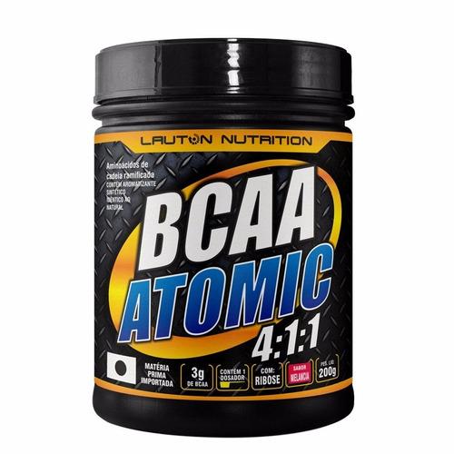 bcaa atomic 4:1:1 - lauton nutrition