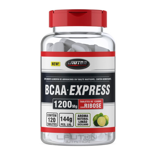 bcaa express 120 tabletes lauton nutrition