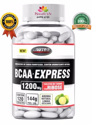 bcaa- express + ribose (120tabs) - lauton nutrition