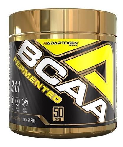 bcaa fermented 8:1:1 - 200g - adaptogen science - vegano
