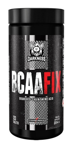 bcaa fix darkness (120tabs) - integralmédica