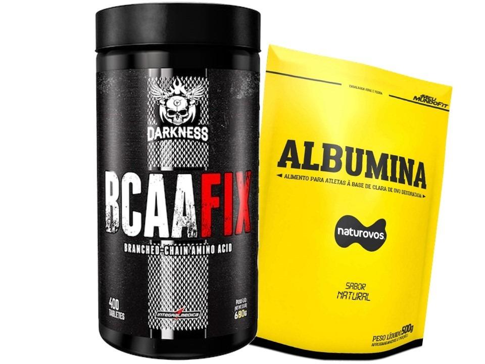 d3b3b42e6 bcaa fix darkness - 400 tab - integralmedica + albumina 500g. Carregando  zoom.