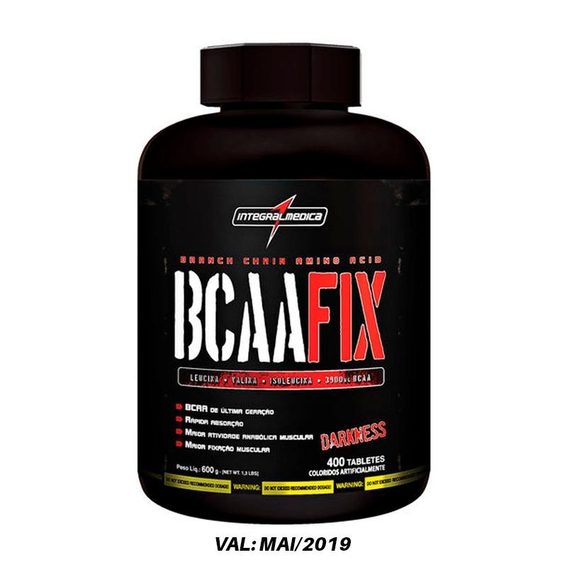 ce21b374c Bcaa Fix Darkness - 400 Tabletes - Integralmedica - R  125