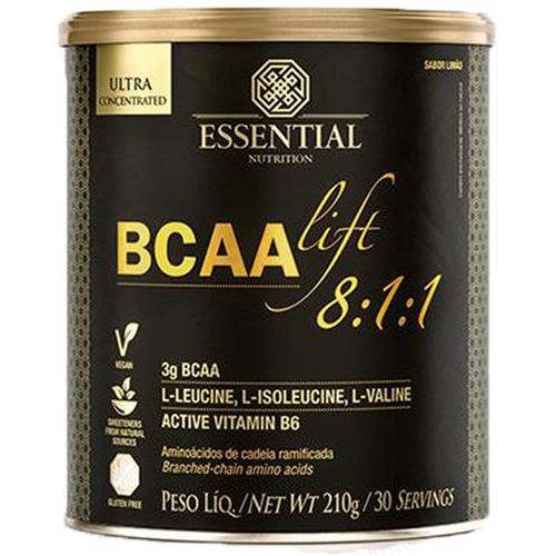 bcaa lift 8:1:1 limão  210 gramas  essential