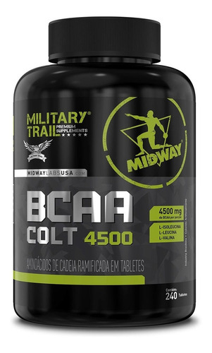 bcaa military trail colt ultra concentrado 240 cáps - midway