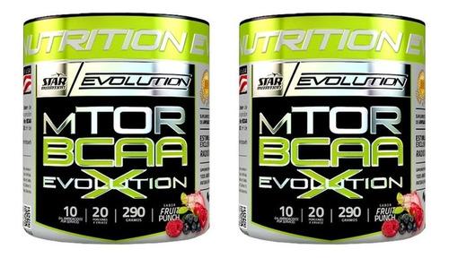 bcaa mtor evolution star nutrition 290 grs x 2 unidades
