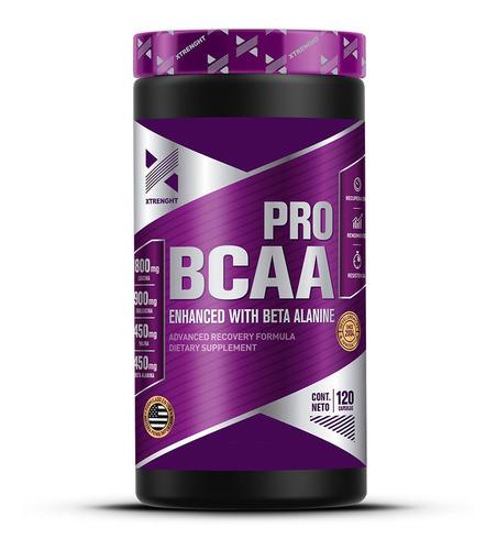 bcaa pro xtrenght 120 caps aminoacidos con beta alanina